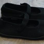 Школьные мокасины/туфли/сменная обувь (стелька 21-21,5см)