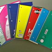 Качественные, яркие, большие тетради для школы, университетов. Из Америки, р-р 26.5х20 см. Лот 1 шт.
