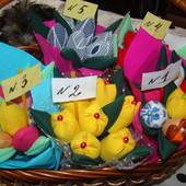 Скоро праздники!!!!! Букет тюльпанов в лоте 7 шт!!! №1,№2,,№4,№5.