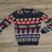 брендовый свитер на рост 128-134 см