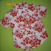Яркая рубашка Gap, р.18-24м