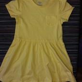 """Качественное платье """"Lupilu """"   для девочек, 100% хлопок)"""