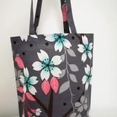 Легкая практичная сумка! Яркая Оригинальная!