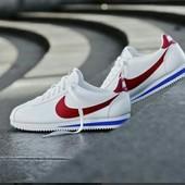 Nike Cortez Кожа 100 % Найк кортез  шикарные классика