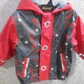 Куртка ветровка дождевик lupilu.