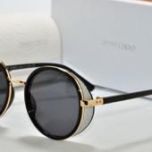 Очки модные и стильные защита: UV 400 Ширина 14 .см . Чёрные