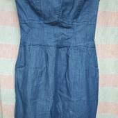 Джинсовое платье бюстье Pimkie , размер 38 европ