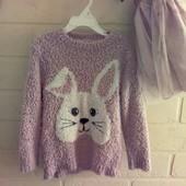 свитер травка young dimension на девочку 5-7 лет