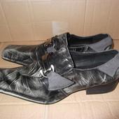 Туфли кожаные р. 41