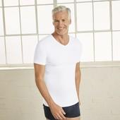 Комфортная мужская футболка из 100% хлопка от Livergy Германия см. замеры!