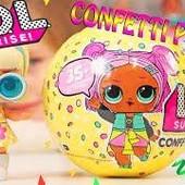 """Праздники скоро!Супер новинка! Кукла Lol surprise 3 серия """"Confetti Pop"""". 9 сюрпризов и конфетти!"""