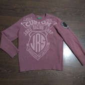 Теплый шерстяной свитер, United colors of Benneton. Идеальное состояние!