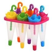 яркий,красивый,качественный набор для мороженного,сока,льда и.тд.,,ЗоНтИкИ,,( 6 шт в комплекте)