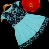Хит продаж! Новое, шикарное платье на рост 158