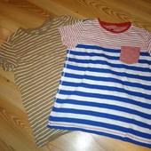 Фирменные футболки на 140-146 см, в идеале