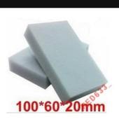 Меламиновые губки. 100×60×20мм. Лот - 6 шт