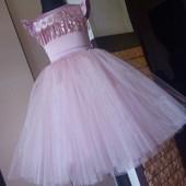 Шикарное фатиновое платье! Готовим принцесс к выпускным!