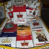 Жевачки в форме сигарет!) Вспомним вкус детства)))) лот 1 пачка в пачке 10 жевачек