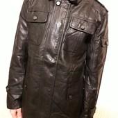 Классная куртка! Черная! PU кожа! Весна!