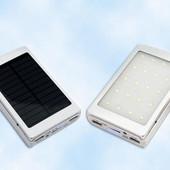 Power Bank 51000mAh зарядное устройство.фонарик. солнечная панель