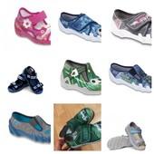 Качественная фабричная текстильная обувь Befado и Fischer /Польша/