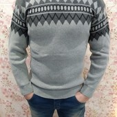 Завтра відправка!!Чоловічі шерстяні светри фірми Burak.р.м-l-хл Турція,якість