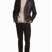 Мужские джинсы черные, H&М 34р