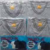 Качественная мужская футболка,100% хлопок.Fazo-R(Узбекистан)