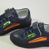 Шикарные кроссовочки для мальчиков и девочек. Стелка- кожа, супинатор. 3 модели. Размер 31-36