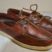 Мужские кожаные  мокасины  Timberland  40 р.стелька 25.5 см.