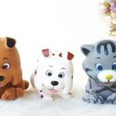 Лот игрушки животные для переноски от Simba