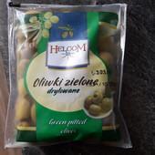 Helcom – зелёные оливки без косточки 195 g.