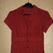 Блуза бордо - 100% лён и блуза черная Roberto Cavalli! Один лот на выбор!