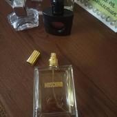 Оригинал!!! Moschino Couture  edp парфюмированная вода. Остаток со 100мл. Made in Italy.