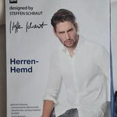 Мужская рубашка длинный рукав=превосходное немецкое качество Steffen Schraut Германия ворот 41