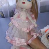 Две куколки ручной работы, Бердянской мастерицы 33см