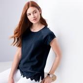 ☘ Блуза с декоративной вышивкой спереди от Tchibo(Германия), размеры наши: 42-44 (36/38 евро)