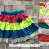 Новинка!!! Яркая и красивая юбка на девочку Grace 116-146 р. Размер на выбор
