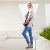 Стильные джинсовые треггинсы длина 7/8 50р евро(56-58р наш) Tcm Tchibo Германия смотрите замеры