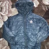 Куртка очень классная, демисезонная, размер 122/128