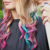 Мелки для временного окрашивания волос, 12 цветов в наличие, в лоте 1 шт. (цвет)