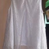 Шикарная дорогая кофточка с кружевом  или футболка с крыльями на выбор(48-52р)