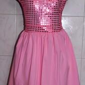 Последнее! Новое шикарное платье Шлейф на р. 134