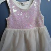 Очень красивое платьице на девочку H&M