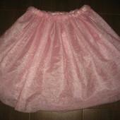 юбка пачка из плотного 4-х слойного фатина  (сток на дефекты проверено)