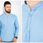 Тренд 2019р Легка натуральна модна чоловіча рубашка s-xxl