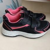 Кроссовки на девочку 32 размер, на липучках, сетка