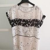 Шикарная блузка Zara на р.L, в идеальном состоянии