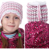 Симпатичная шапочка для вашей девочки! 100% коттон