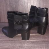 Распродажа!  Красивые  кожаные ботинки. Состояние отличное.